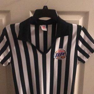 Miller lite referee girl dress costume